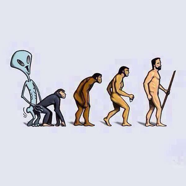 люди произошли от инопланетян